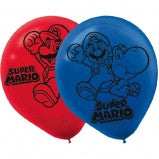Mario Bros Latex Balloon
