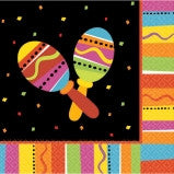 Fiesta Fun Luncheon Napkin