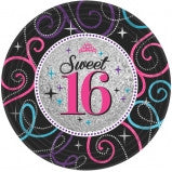 Sweet 16 Celebration Lunch Plate