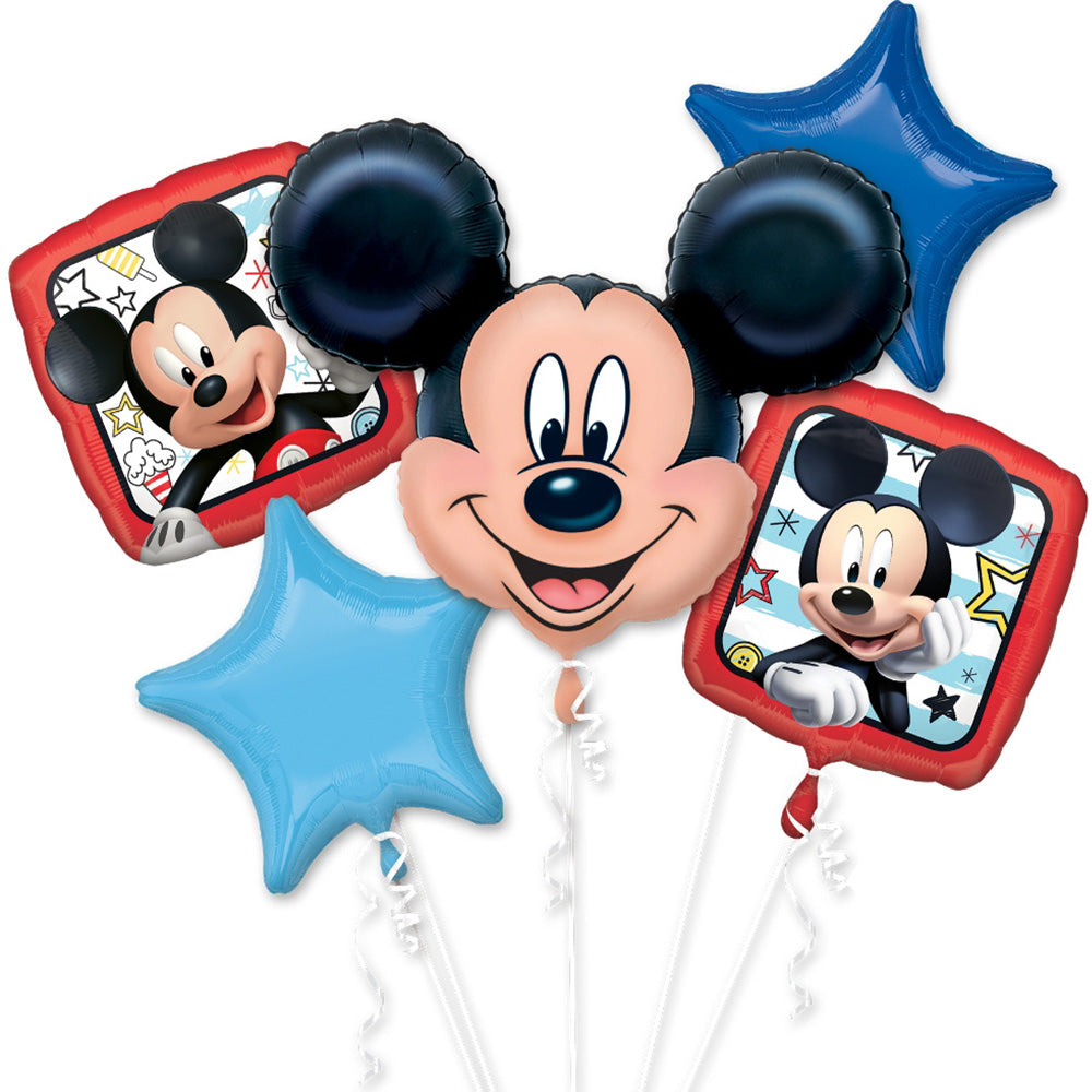Mickey and the roadster racers foil balloon bouquet