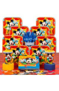 Disney's Mickey Mouse Deluxe Party Kit - 8 Guests