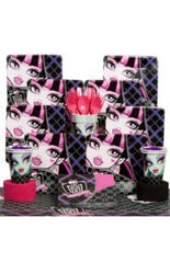 Deluxe Monster High Party Kit - 8 Guests