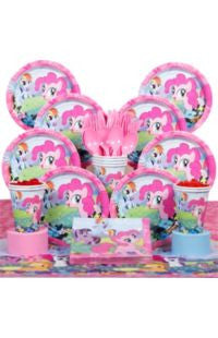 Deluxe My Little Pony Party Kit - 8 Guests