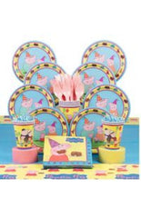 Deluxe Peppa Pig Party Kit - 8 Guests