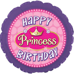 "18"" Birthday Princess Pearls Balloon"