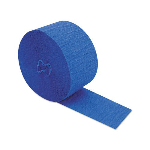 Crepe Streamer - Royal Blue