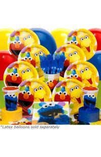 Deluxe Sesame Street Party Kit - 8 Guests