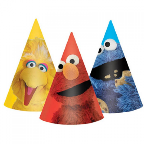 Sesame Street Hat - 8 Count
