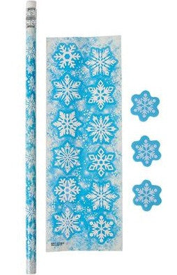 snowflake stationery set jax party supply and rental