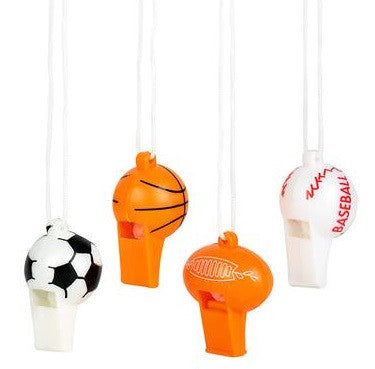 Sport Ball Whistle Necklace