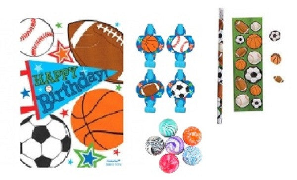 Sports Party Favor Kit