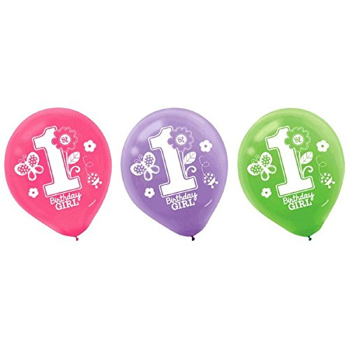 1st Sweet birthday Latex Balloons