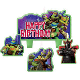 Ninja Turtles Birthday Candle