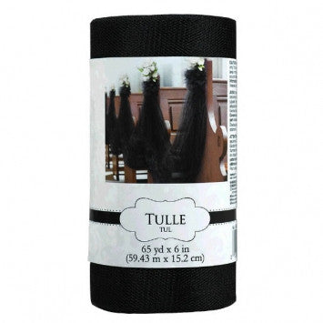Tulle Spool - Black
