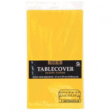 Yellow Sunshine Rectangular Tablecover