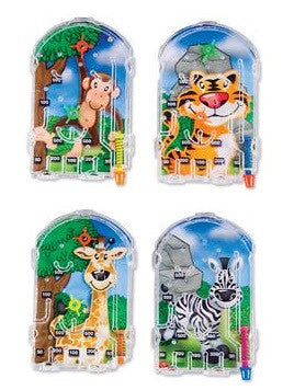 Zoo Animal Pinball Game - 6 Cts