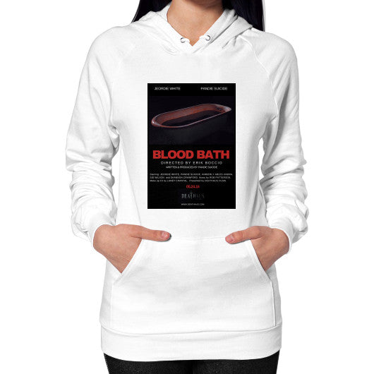Hoodie (on woman) White Deathaus  Films