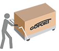 GoPort doesn't require damaging, permanent anchors and can be easily moved.