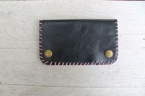 Leather Wallet - Hand Stitched