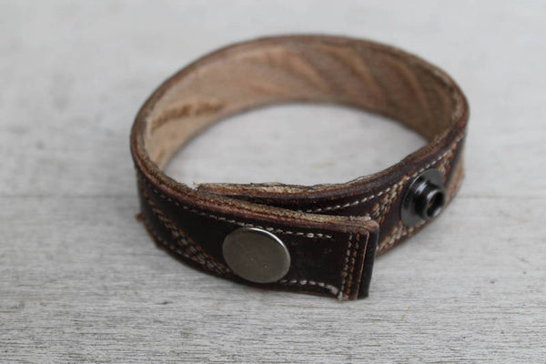 Leather Cuff - Cowboy Boot