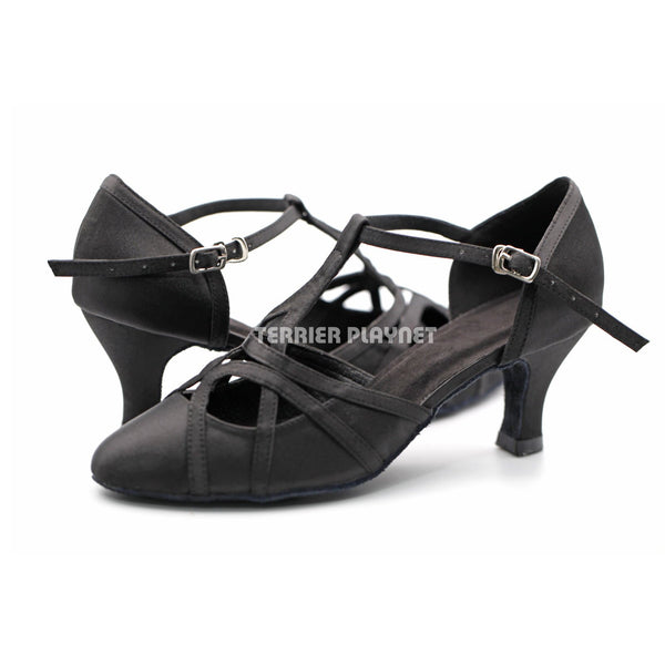 Black Women Dance Shoes D1296