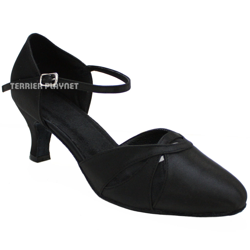 Black Women Dance Shoes D138