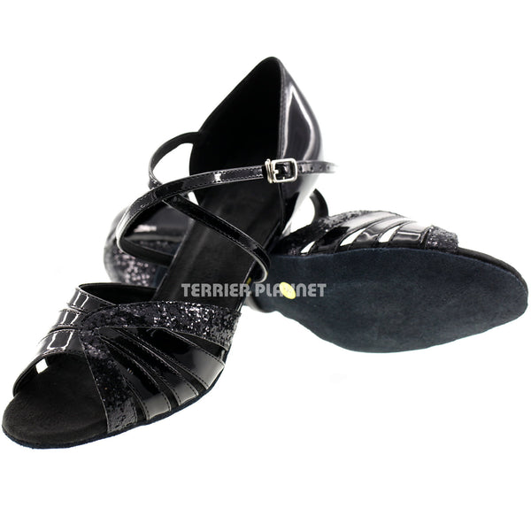 Black Women Dance Shoes D142