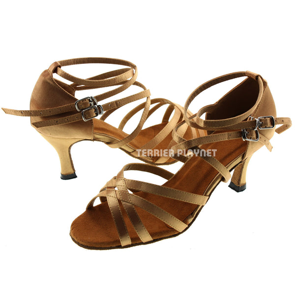 Gold Women Dance Shoes D159