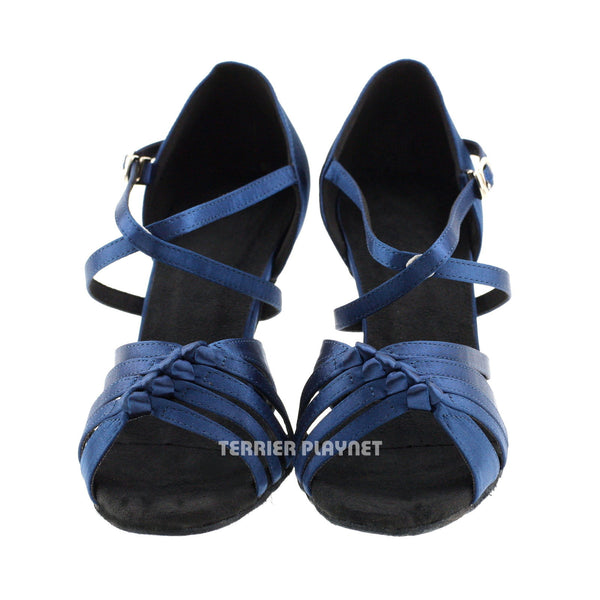 Blue Women Dance Shoes D175