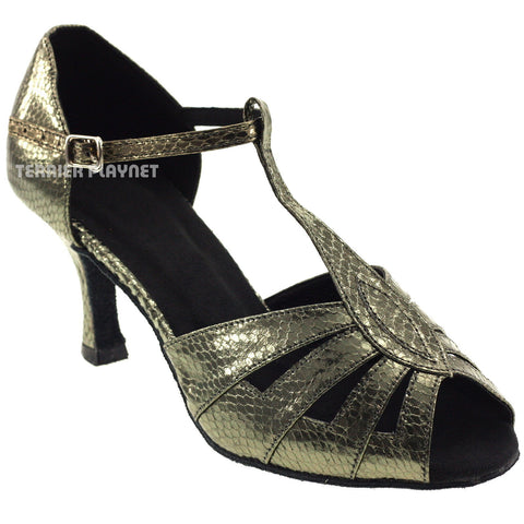 Gray Women Dance Shoes D23