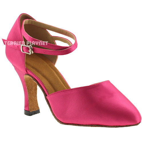 Hot Pink Women Dance Shoes D241