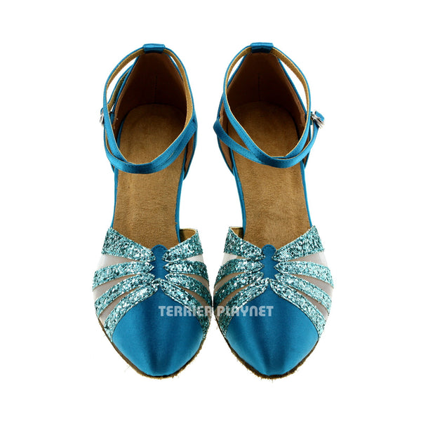 Light Blue Women Dance Shoes D259