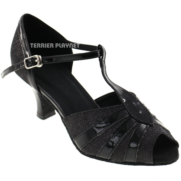 Black Women Dance Shoes D325