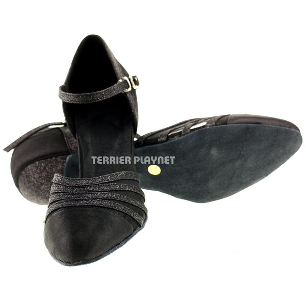 Black Women Dance Shoes D37