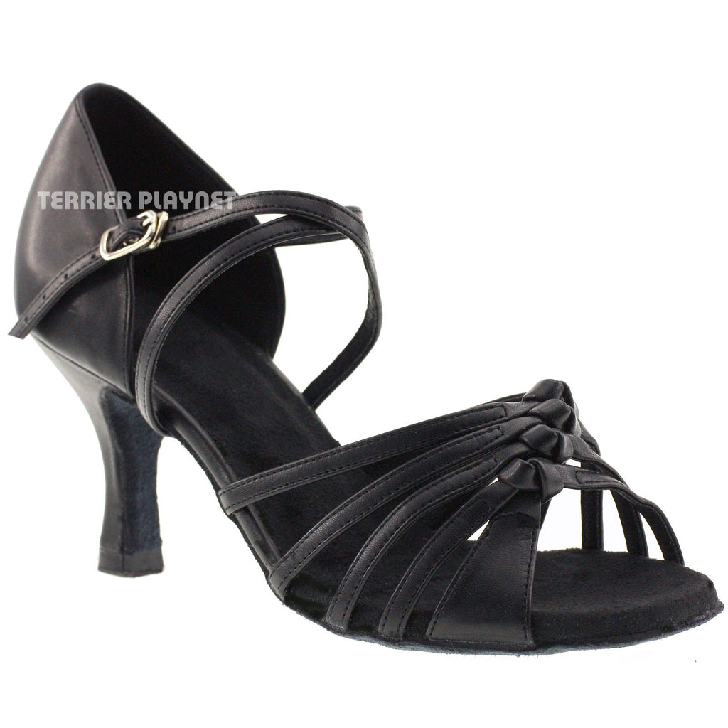 Black Women Dance Shoes D386