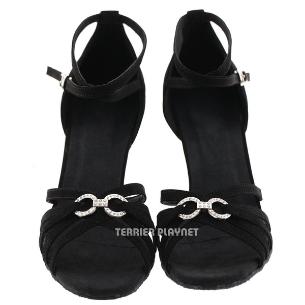 Black Women Dance Shoes D403