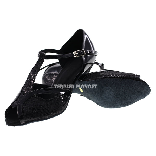 Black Women Dance Shoes D422