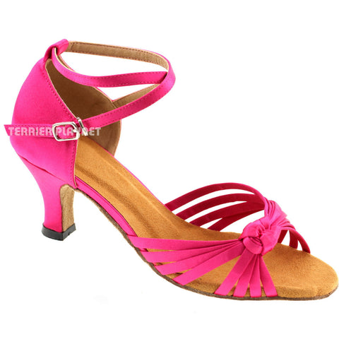 Hot Pink Women Dance Shoes D428