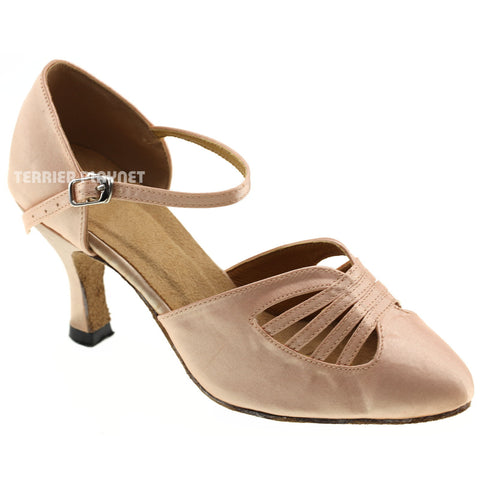 Cream Women Dance Shoes D476