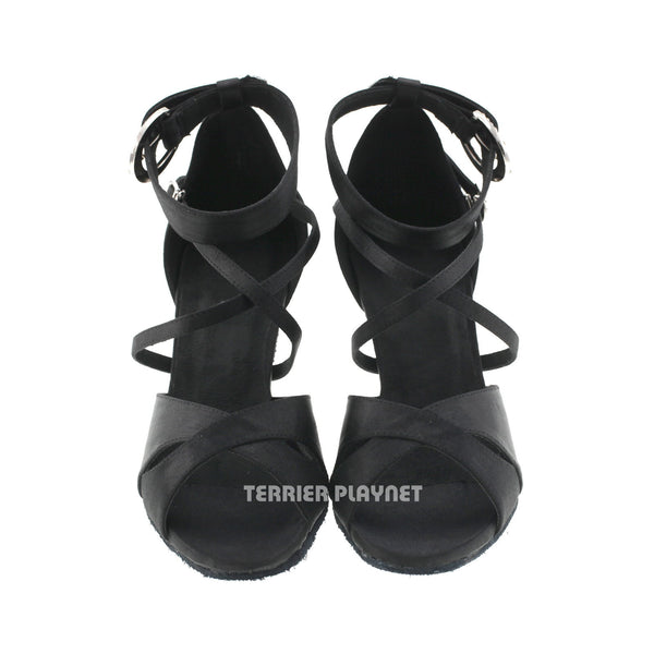 Black Women Dance Shoes D499