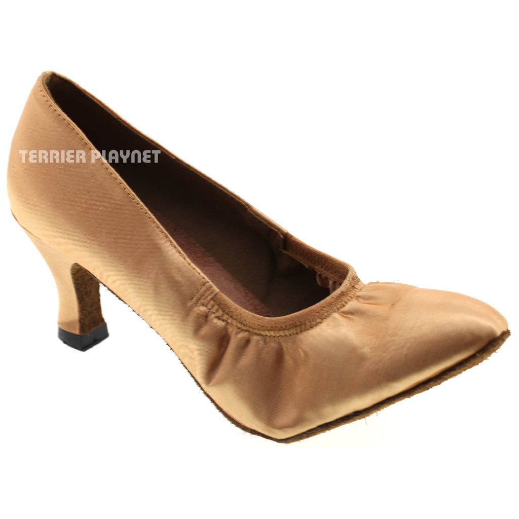 Gold Women Dance Shoes D507