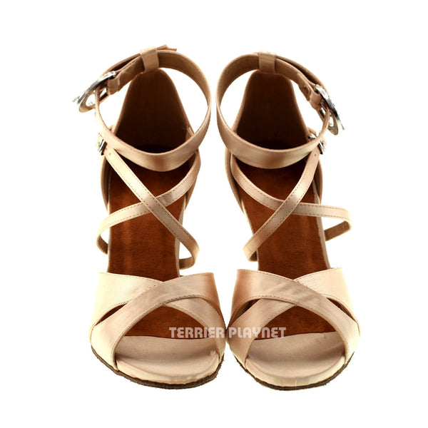 Cream Women Dance Shoes D521
