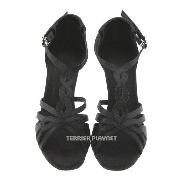 Black Women Dance Shoes D526