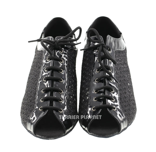 Black Women Dance Shoes D584
