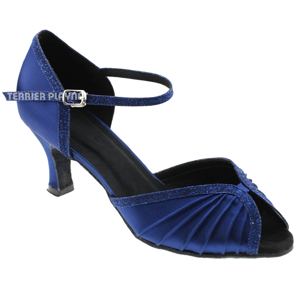 Blue Women Dance Shoes D589