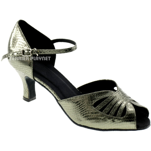 Gray Women Dance Shoes D592