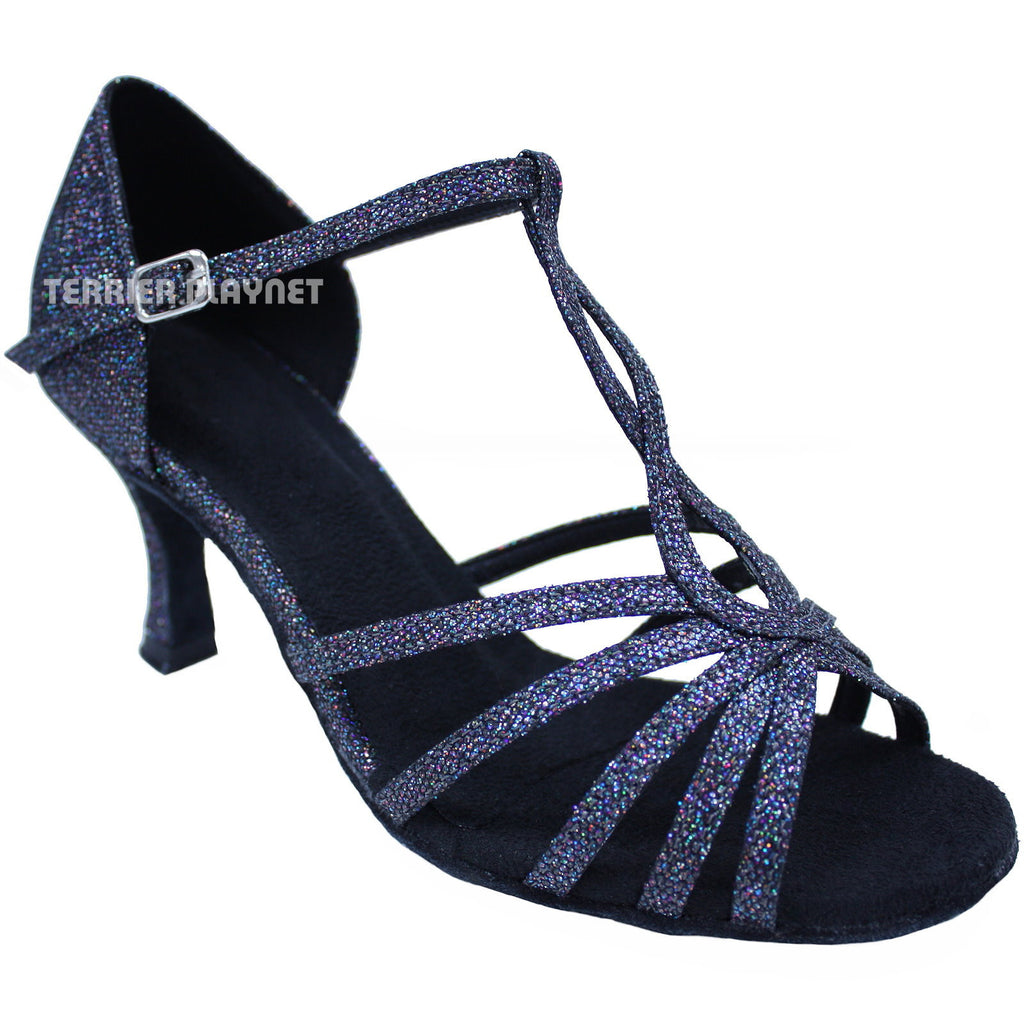 Black Women Dance Shoes D633