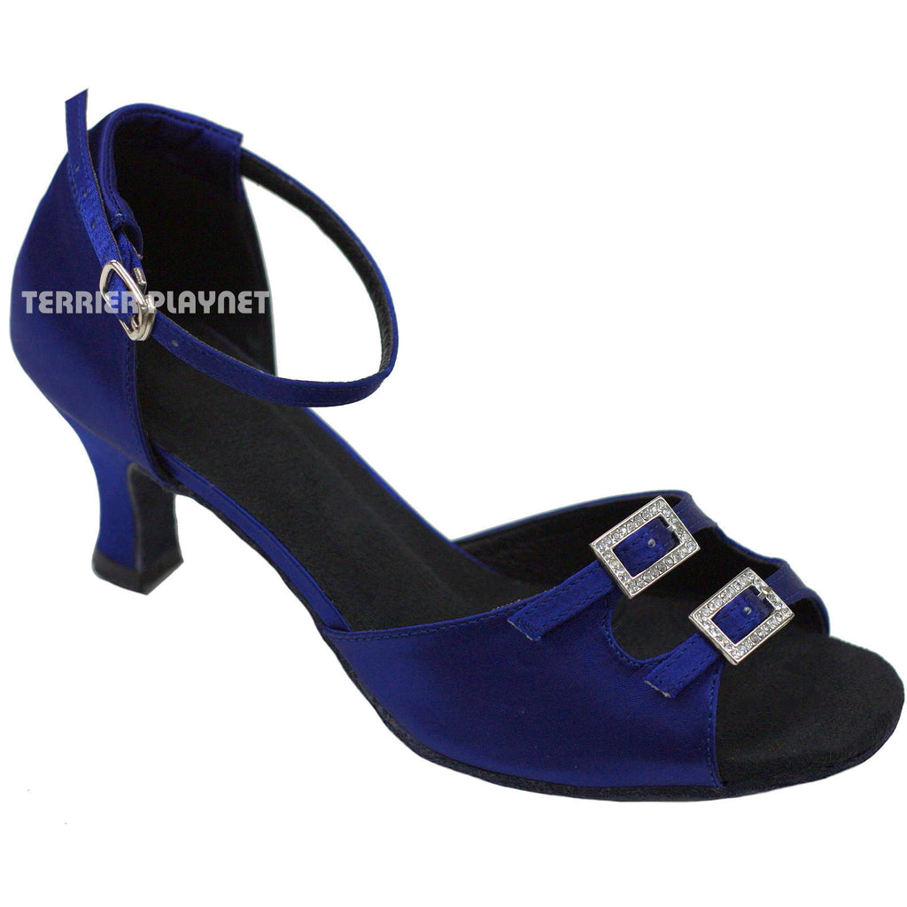 Blue Women Dance Shoes D700