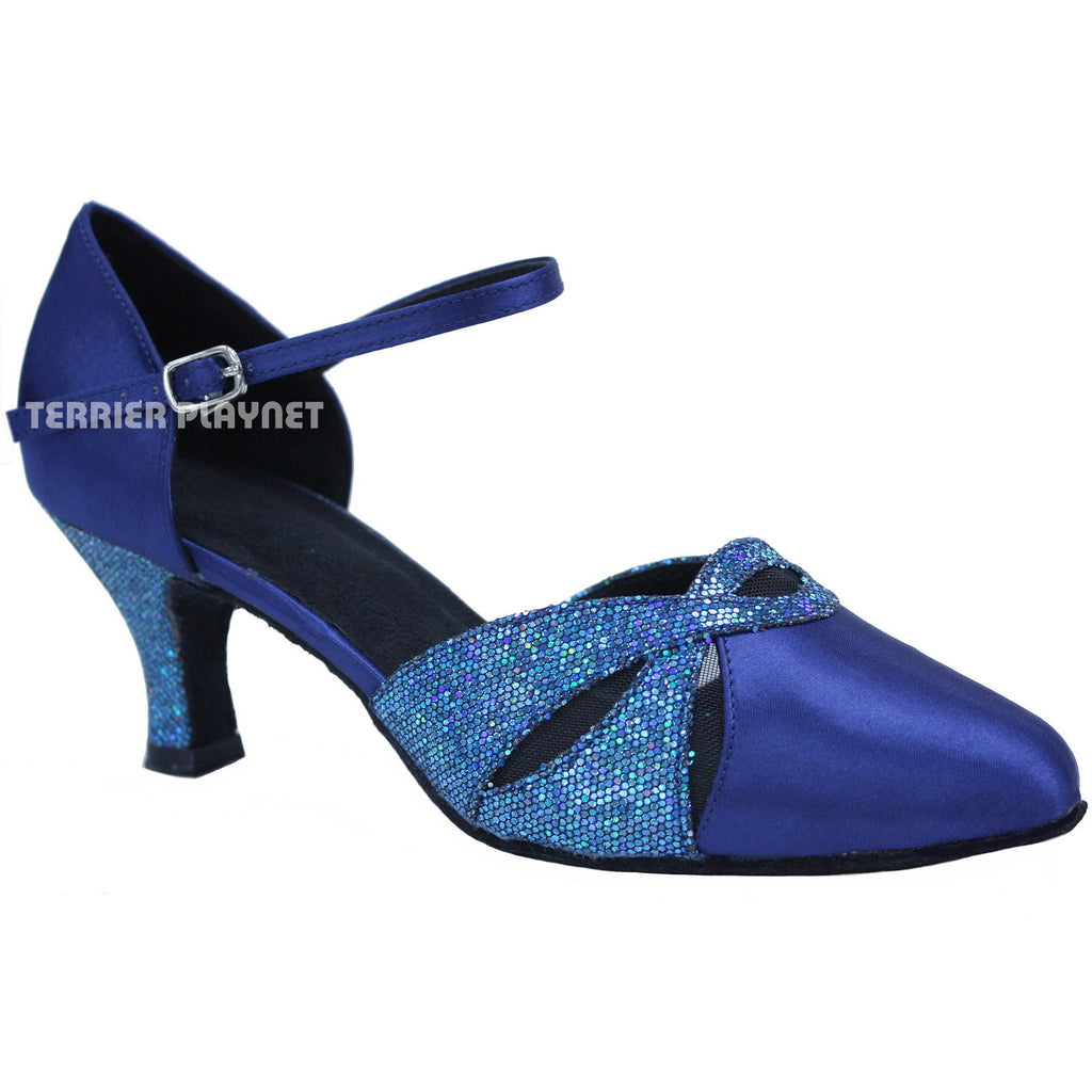 Blue Women Dance Shoes D703
