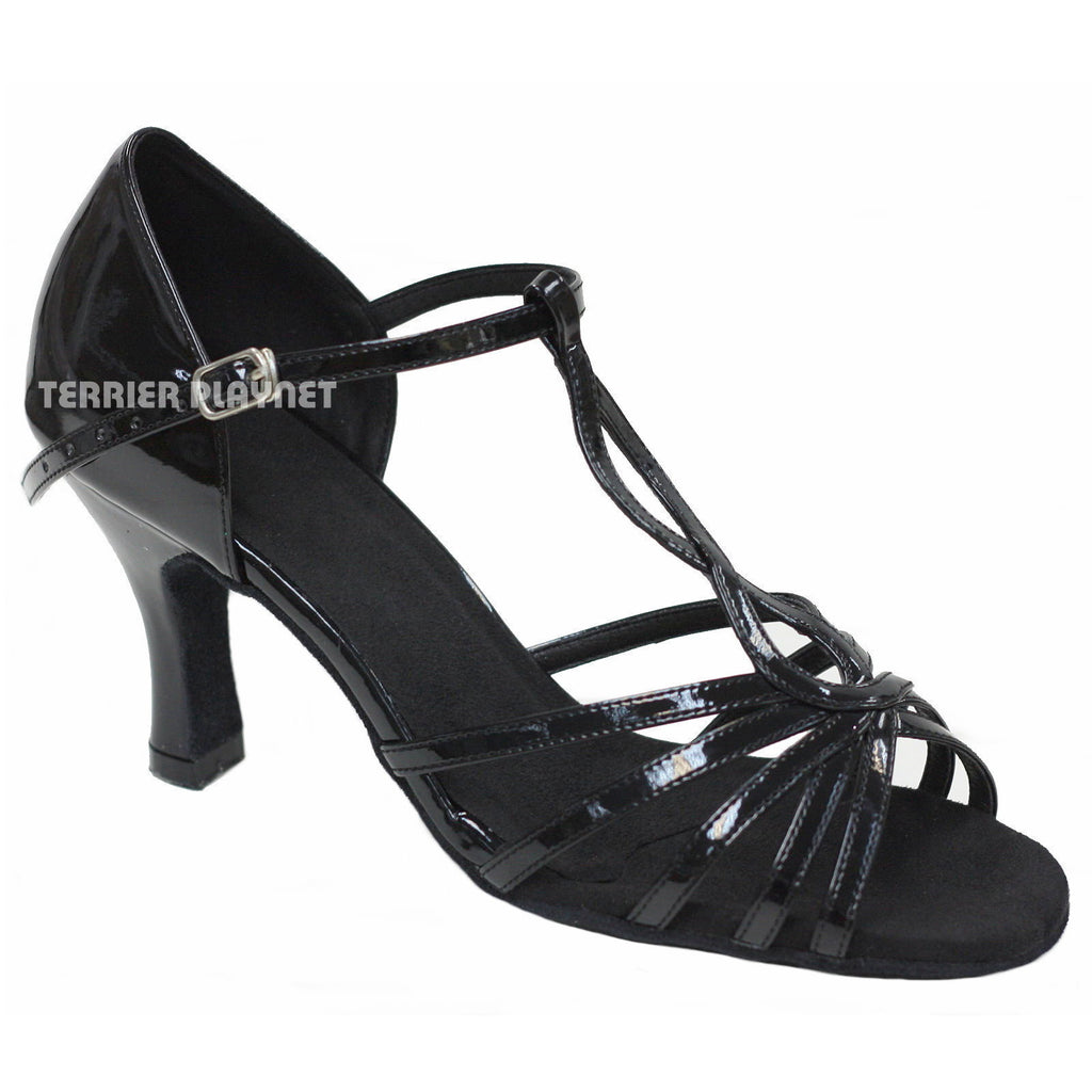 Black Women Dance Shoes D706